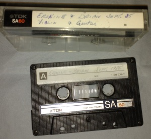 The Cambridge Tape - Erskine and Brian Morris, Labour Day Weekend, 1985.