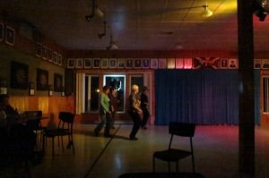 Dancing to Nash Stanley at the Gaspé Legion - October 24, 2015 (Photo by Glenn Patterson)