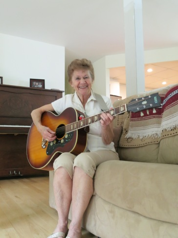 Brigid Drody-Miller at her home. June 13, 2013. (Photo by Glenn Patterson)