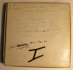 leofitzpatrickfirsttape1958